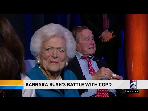Health Headlines: Barbara Bush's battle with COPD