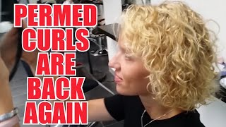 The comeback of the year - Perm is back by Joerg Mengel Friseure