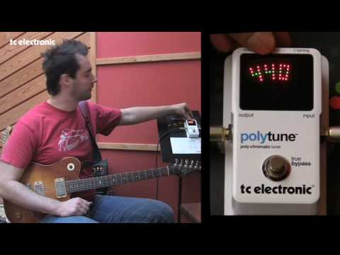 TC Electronic PolyTune - The Display