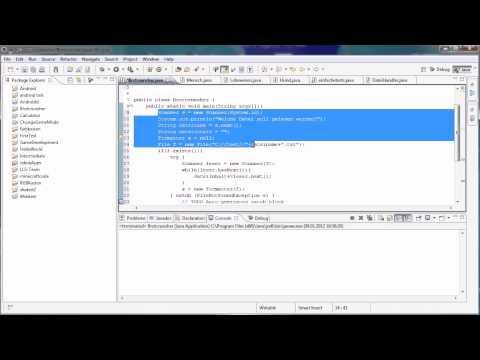 Java Tutorial 47 – In Dateien schreiben