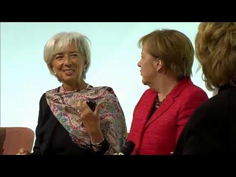 Συνάντηση Μέρκαλ Λαγκάρντ στο Βερολίνο