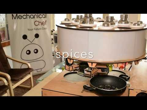 "Cooking Robot ""Mechanical Chef"" Can Prepare Indian Foods Automatically In Homes"