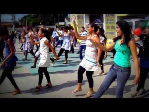 2º Flash mob gospel em Queimados (Praça dos Eucaliptos)