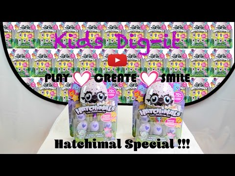 Hatchimal Give away !!   Kids Dig it Episode 3