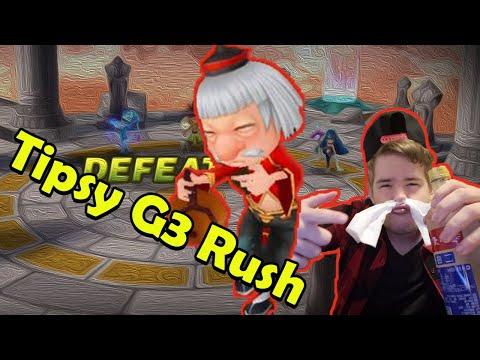 G3 Arena Rush - Stream VoD Tipsy RUSH! - Summoners War