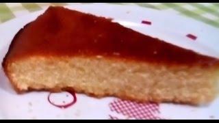 Bizcocho de harina de Garbanzos sin azúcar (bajo Indice GlucÃ...