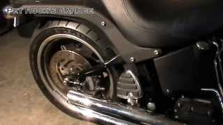 10. How To Remove & Install Rear Wheel - Harley Davidson Softail