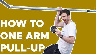 How to one arm pull up by Bouldering Bobat