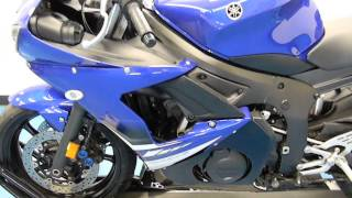 7. 2008 Yamaha YZF-R6S Blue - used motorcycle for sale - Eden Prairie, MN