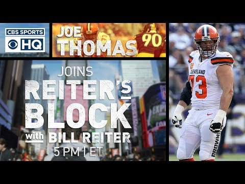Video: Joe Thomas talks Browns, Baker Mayfield | Reiter's Block