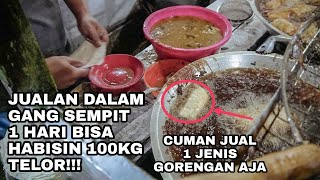 Video JUAL 1 MACAM GORENGAN, HABIS-IN 100KG TELOR PER-HARI! DAHSYAT! MP3, 3GP, MP4, WEBM, AVI, FLV Januari 2019