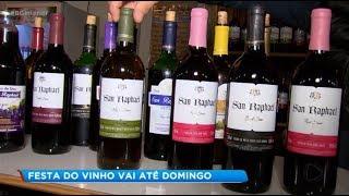 Começa tradicional Festa do Vinho de São Miguel Arcanjo