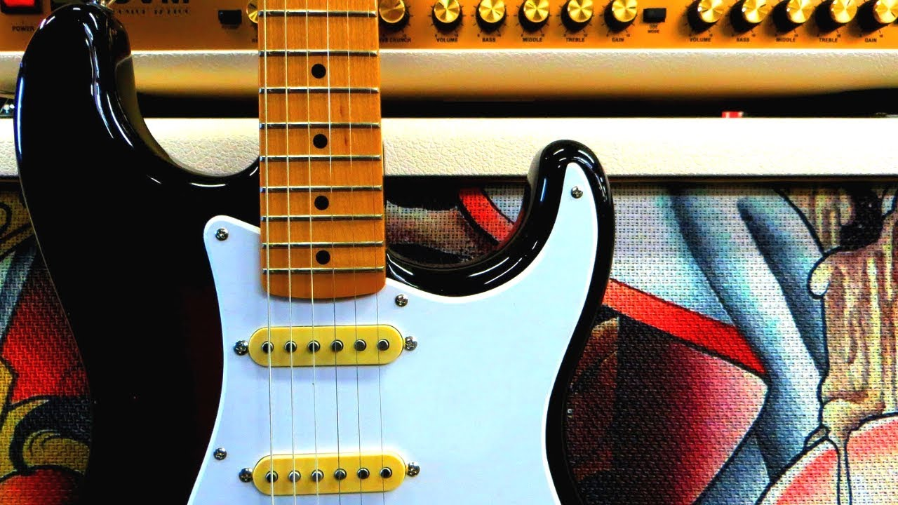 Explosive Blues Rock Guitar Backing Track Jam in C