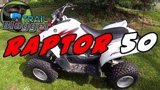 4. Yamaha Raptor 50