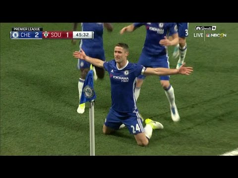 Video: Gary Cahill's header puts Chelsea back in front