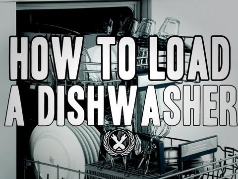 how to stack a dishwasher