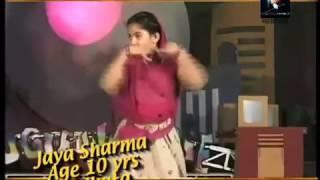 Jaya Kishori ji (जया किशोरी जी) Classical Dance in Boogie Woogie season 2