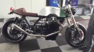 10. Allan E's Radical Guzzi 8V Custom Tonti
