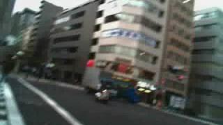 Tokyo time-lapse bike ride