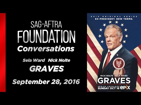 Conversations with Sela Ward and Nick Nolte of GRAVES