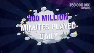 Angry Birds Seasons 500 Millionen Downloads