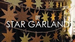 Star Garland - DIY THRIFTMAS Day 1 by Tiffyquake