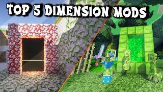 Top 5 Minecraft Dimension Mods