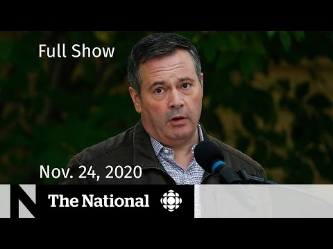 CBC News: The National | Alberta takes action amid COVID-19 spike | Nov. 24, 2020