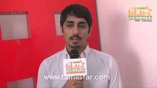 Siddharth at Kaaviya Thalaivan Team Interview