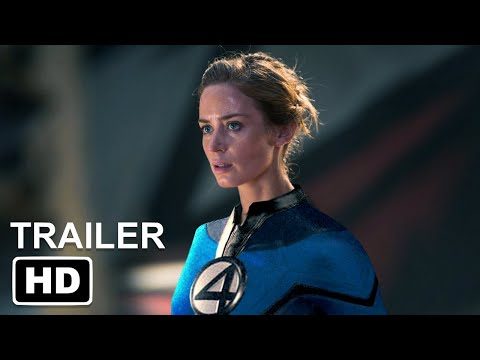 Marvel's FANTASTIC FOUR First Look HD   John Krasinski, Emily Blunt, Ansel Elgort