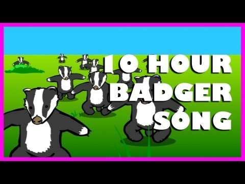 badger - Badgers played for 10 hours! Go on! You know you want to! RT! http://is.gd/RT10hrBadgers FB! http://is.gd/FB10hrBadgers Original BADGERS @ http://youtu.be/EI...