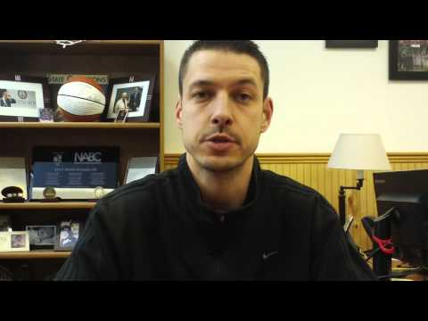 Matt Logie men's basketball Jan. 12, 2015