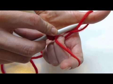 Stricken lernen: Maschen aufnehmen Teil 2