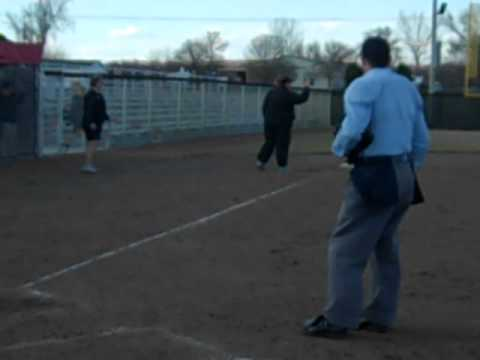 Softball vs. Doane, Neumann's walk-off homer, 4.1.2011