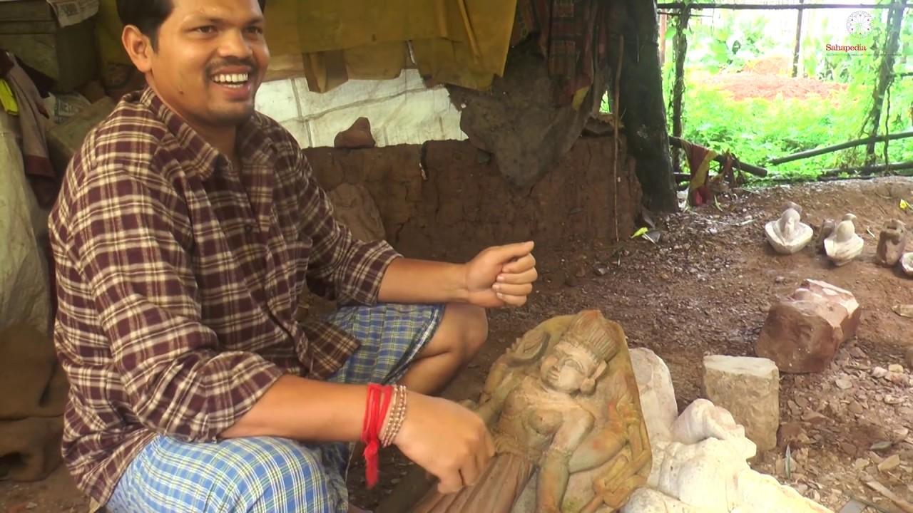 प्रस्तर मूर्तिकला की पद्यति / Process of Stone Carving ; Kamal Singh Lohar