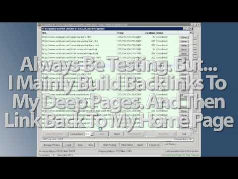 ScrapeBox Backlinks Part 2 of 6 - How to