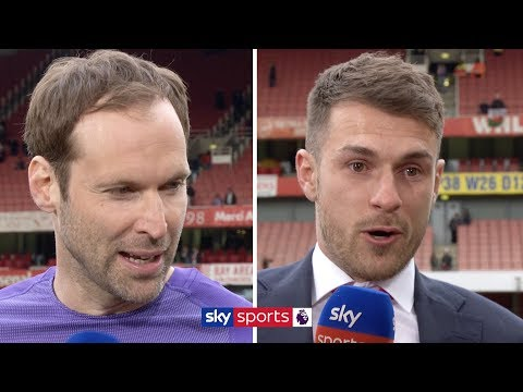 Aaron Ramsey & Petr Cech say goodbye to Arsenal & reflect on their time at the club | Super Sunday