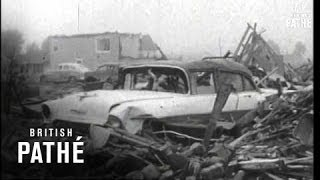 Fargo (ND) United States  city photos : Fargo Tornado Deals Death And Ruin (1957)