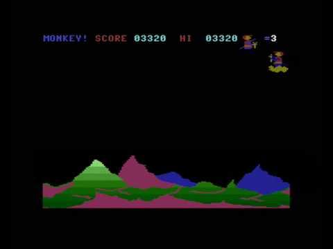 Commodore 16/Plus4 - Monkey Magic - Retroplay
