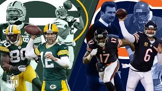 Packers vs. Bears: Best Highlights & Moments from the Rivalry! | NFL by NFL
