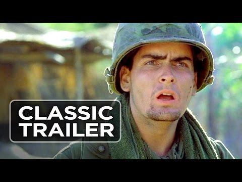 Platoon Official Trailer #1 - Charlie Sheen, Keith David Movie (1986) HD