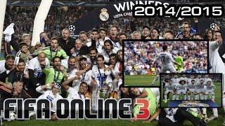[FO3] ฟูลทีม All Star Real Madrid 3-4-3 ครองบอลยาวๆ Ranking 1-1, fifa online 3, fo3, video fifa online 3