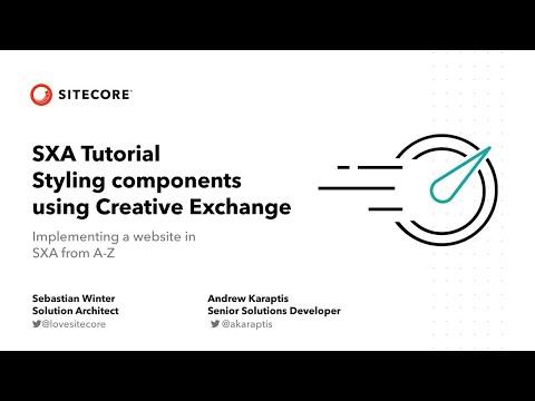 SXA Tutorials - Episode 10 - Styling components