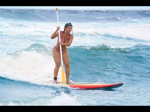 Stand Up Paddle - Ponta Negra 8 Fev 2014 (HD)