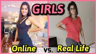 Video Girls : Online VS. Real Life | Like App | Rickshawali MP3, 3GP, MP4, WEBM, AVI, FLV Maret 2019
