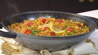 معكرونة بفواكه البحر  | هشام كوك |  Samira TV | hicham cook