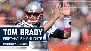 Brady Throws 2 TDs & Leads Patriots to 23 First-Half Points (Highlights) | Patriots vs. Browns | NFL by NFL