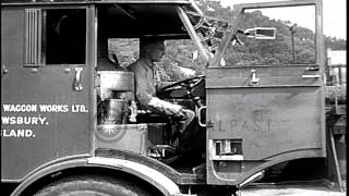 Bluefield (WV) United States  City pictures : A new high capacity steam truck demonstrated at Bluefield in West Virginia, USA. HD Stock Footage
