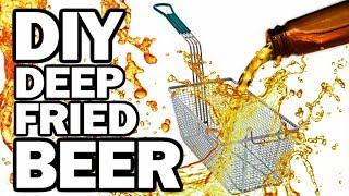 DIY DEEP FRIED BEER - Man Vs Fryer by ThreadBanger