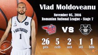 2016.11.05 Vlad Moldoveanu at Steaua CSM Eximbank